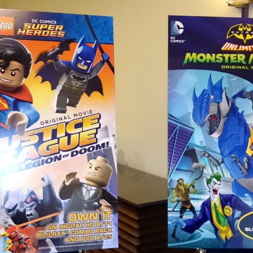SDCC 2015: DC heroes unite with cast of Lego Justice League and Batman Unlimited: Monster Mayhem