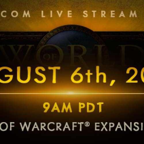 New WOW Expansion announcement August 6 at Gamescom