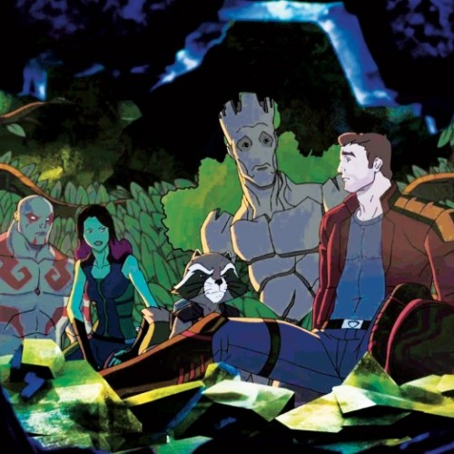 First teaser for Marvel's Guardians of the Galaxy animated series