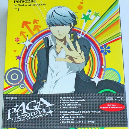 Persona 4: The Golden Animation vol. 1 review