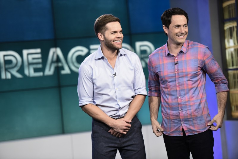 """REACTOR -- """"Episode 3"""" Episode 103 -- Pictured: (l-r) Wes Chatham, David Huntsberger -- (Photo by: Eddy Chen/Syfy)"""