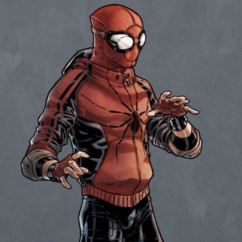 Could this be the new Spider-Man costume for the Marvel Cinematic Universe?