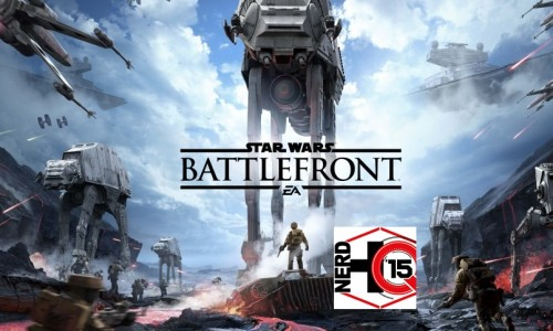 SDCC 2015: Star Wars Battlefront public gameplay at Nerd HQ