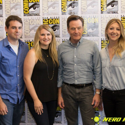 SDCC 2015: Bryan Cranston talks to us about SuperMansion