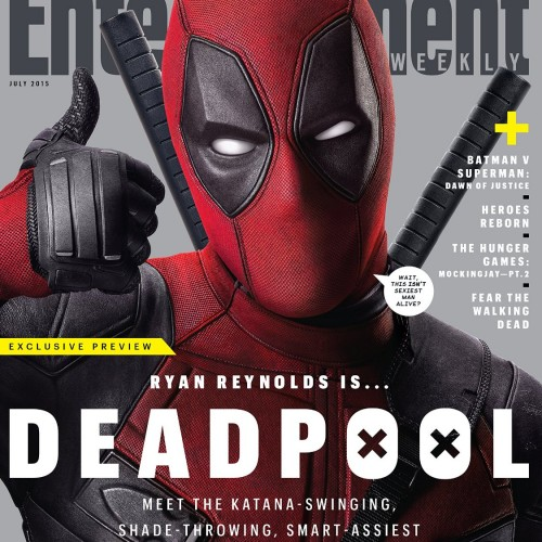 Deadpool featured in these two Entertainment Weekly SDCC covers