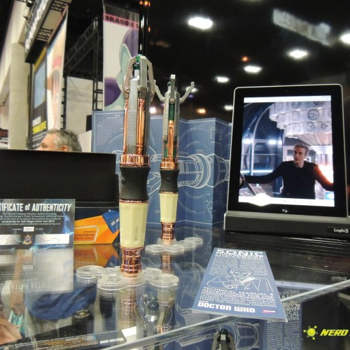 SDCC 2015: BBC America presents the 12th Doctor's Sonic Screwdriver remote control
