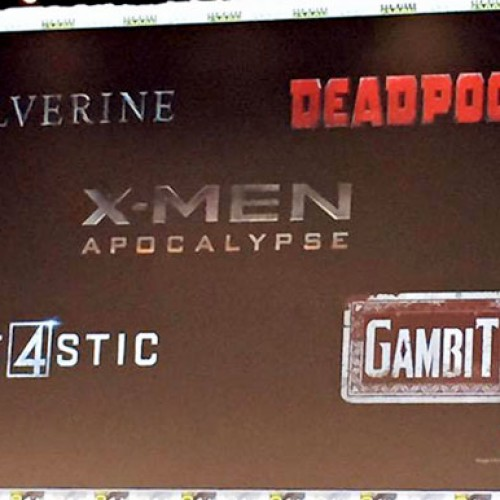 SDCC 2015: Gambit, Wolverine and more revealed on Fox's Marvel slate of films