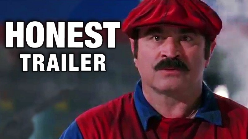 honest trailer super mario bros