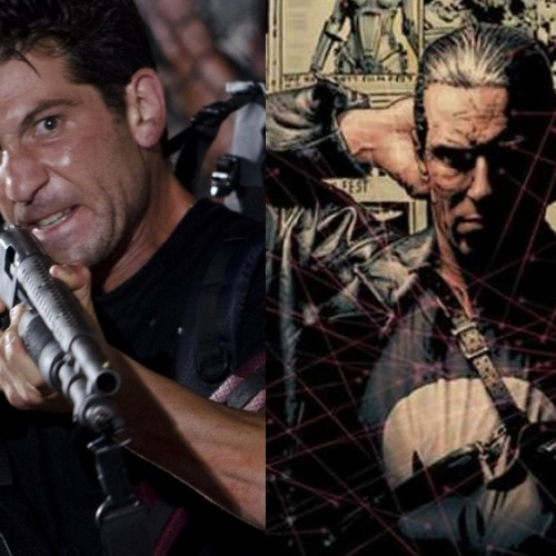 Jon Bernthal readies for Punisher and shows off his guns for Daredevil series