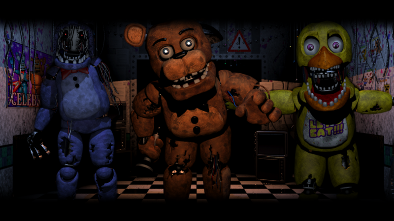Rooms Five Nights At Freddy S Sister Location
