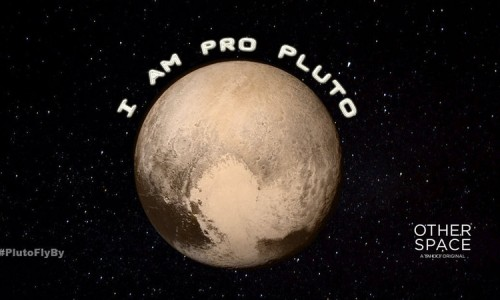 Paul Feig and Other Space are asking for your help to reclassify Pluto as a planet