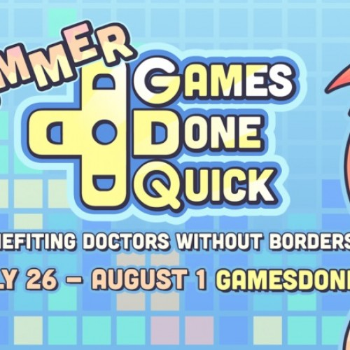 Summer Games Done Quick is a week-long charity speedrunning marathon