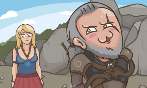 Witcher 3 fans, check out The Witchar: Wicked () Hunt parody