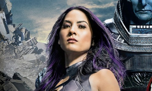New Olivia Munn as Pyslocke set photo from X-Men: Apocalypse