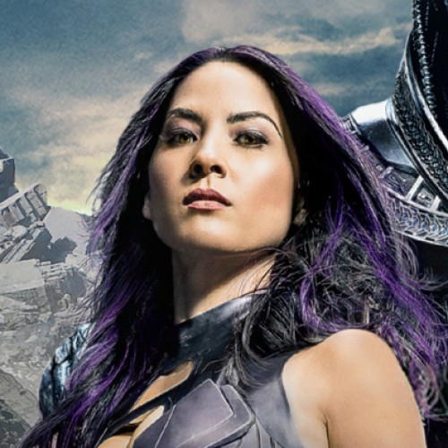 Olivia Munn trains for sword and psychic blade move in X-Men: Apocalypse