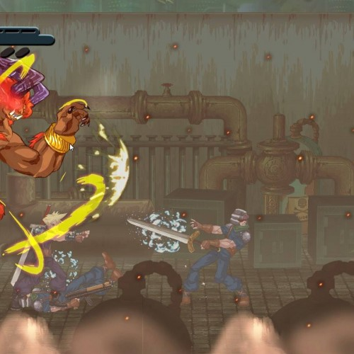 Play the unofficial Final Fantasy VII beat-em-up game now