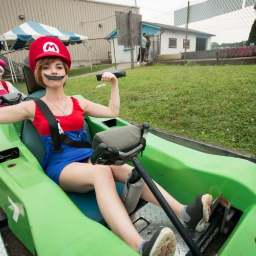 Live-action Mario Kart