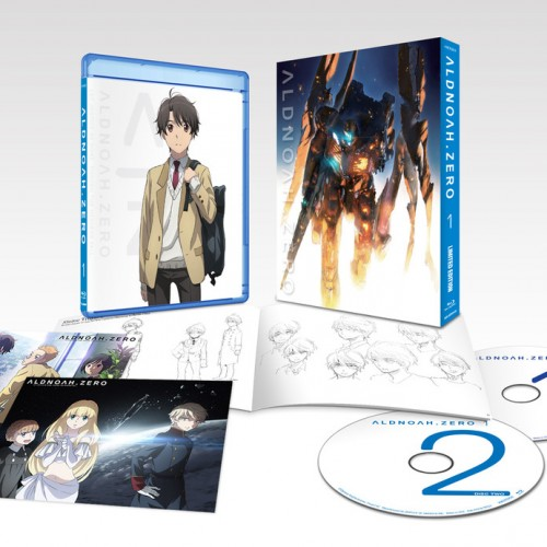 Review: ALDNOAH.ZERO Limited Edition Blu-ray Vol.1‏