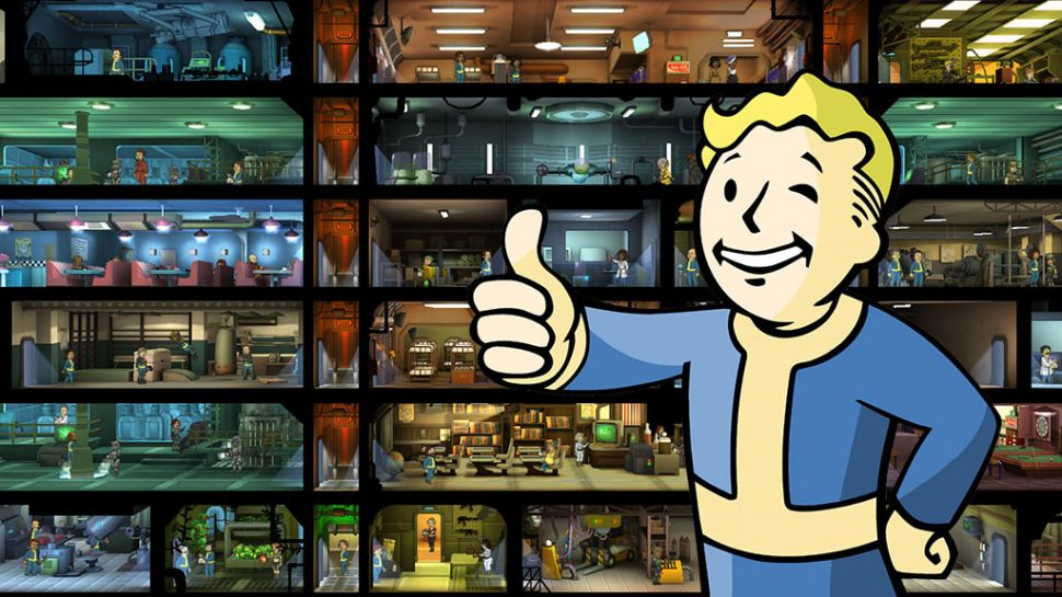 is there a fallout 4 and fallout shelter connection reactor