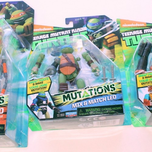 Teenage Mutant Ninja Turtles Playmates Mutations toy review