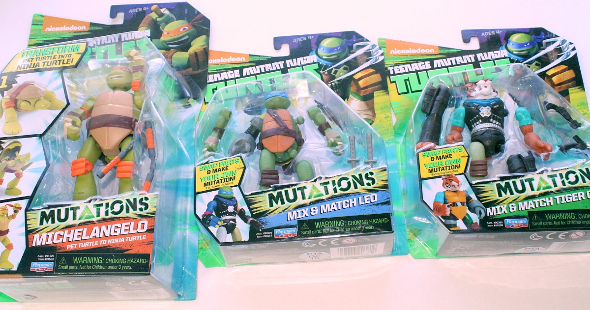 Teenage Mutant Ninja Turtles Playmates Mutations Toy Review Nerd Reactor