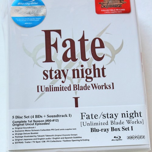 Fate/stay night [Unlimited Blade Works] Blu-ray Box Set 1 review