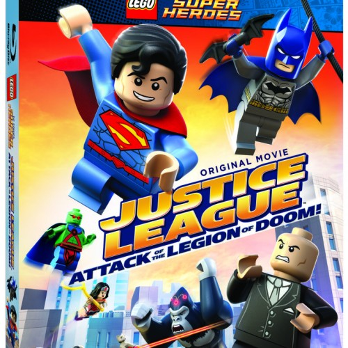 LEGO Justice League: Attack of the Legion of Doom! Blu-ray (review)