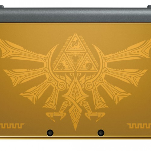 GameStop's Hyrule Gold Edition New Nintendo 3DS XL