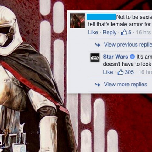 Star Wars social media managers are keeping it real
