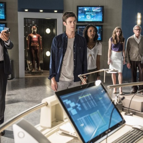 New still from season 2 of The Flash