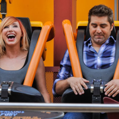 Former MythBusters' Kari and Tory are reunited and looking for Thrills