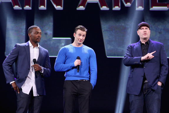 captain americal civil war kevin feige chris evans anthony mackie