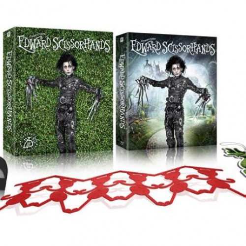 Edward Scissorhands 25th Anniversary Blu-ray Giftset coming October 13