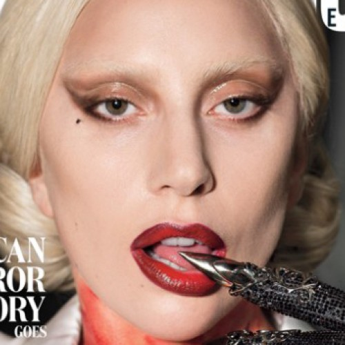 EW's cover has bloody Lady Gaga for American Horror Story
