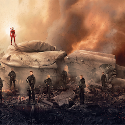 The Hunger Games Mockingjay Part 2 new poster shows Panem in ruins