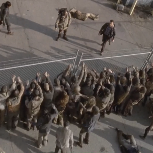 Are the W walkers bigger than we think in The Walking Dead?
