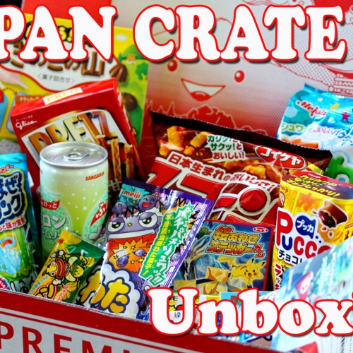 Japan Crate August 2015 – A Japanese candy crate