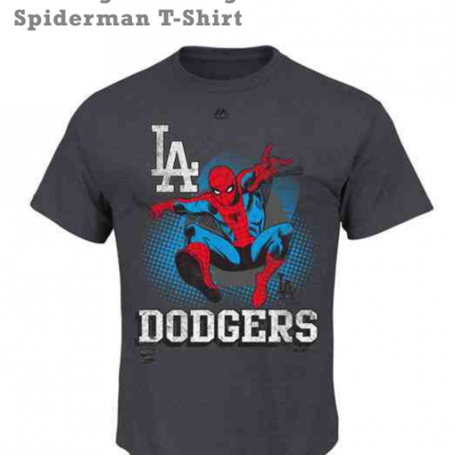 Marvel teams up with MLB for clothing collection