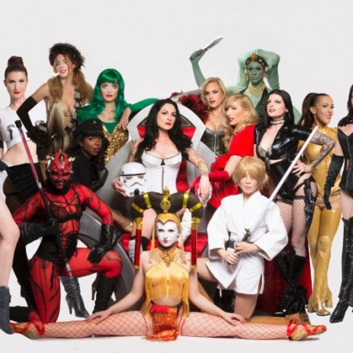 Check out Star Girls, a Star Wars burlesque, tonight in LA