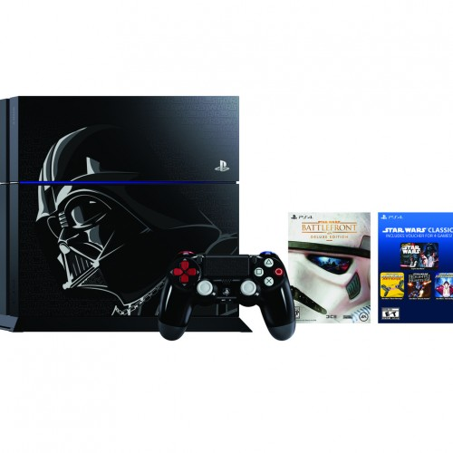 Represent Darth Vader with the Star Wars Limited Edition PS4
