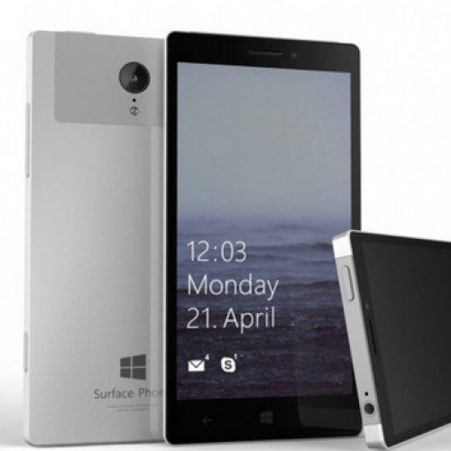 Microsoft Surface Mobile leaked