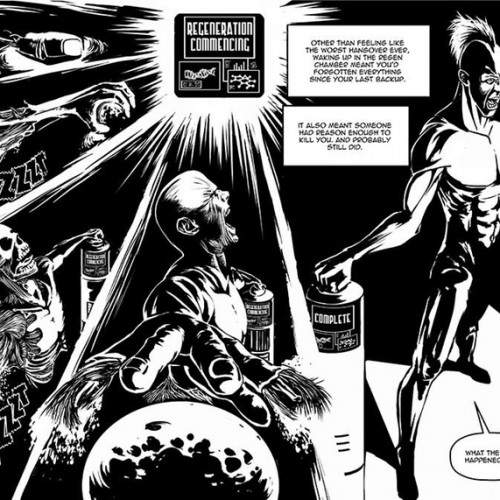 Kickstarter: The Immortal graphic novel