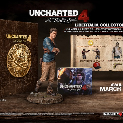 Uncharted 4 to be released on March 18, 2016