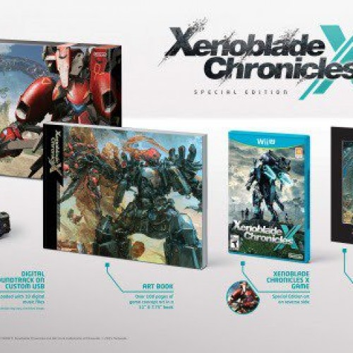Xenoblade Chronicles X is getting a special edition