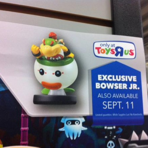 Both Dr. Mario and Bowser Jr. amiibo will be store exclusives
