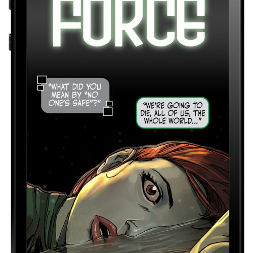 Comic series Cyber Force moves to LINE Webtoon