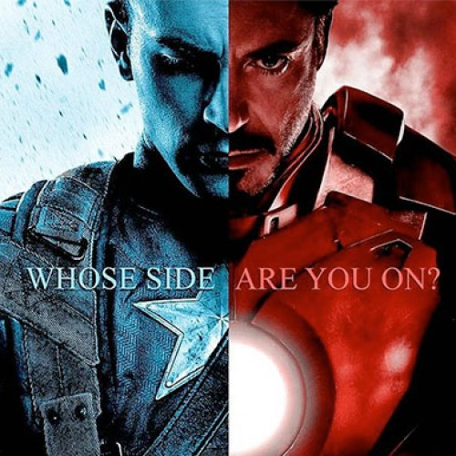 Divided are we with the first posters for 'Captain America: Civil War'