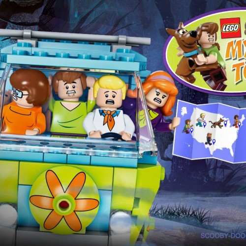 Scooby-Doo and LEGO team up for the LEGO Scooby-Doo Mystery Tour