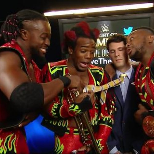 Wrestler Xavier Woods channels Rufio at WWE's Night of Champions