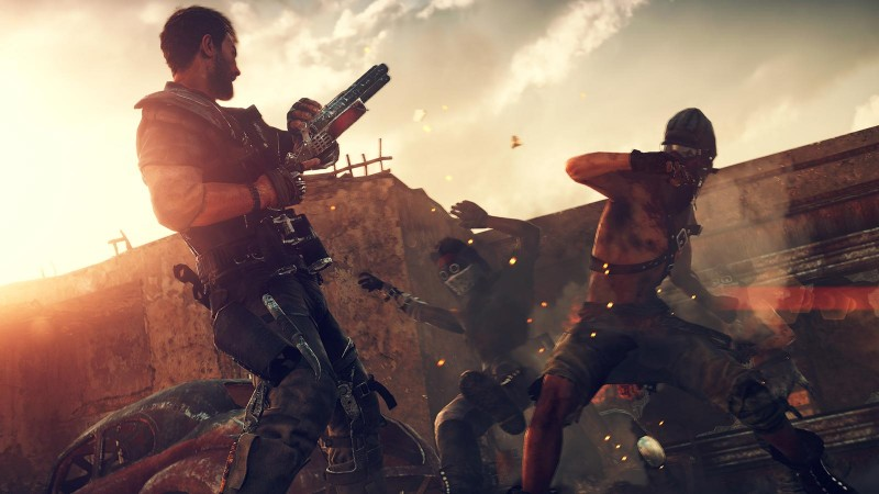 Mad Max Game Play Image